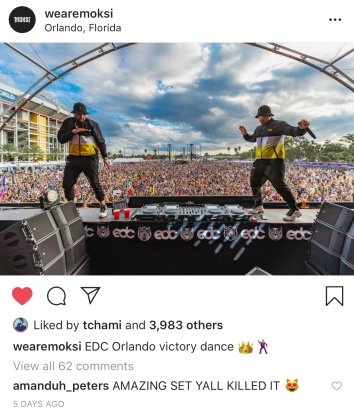 Moksi at EDC