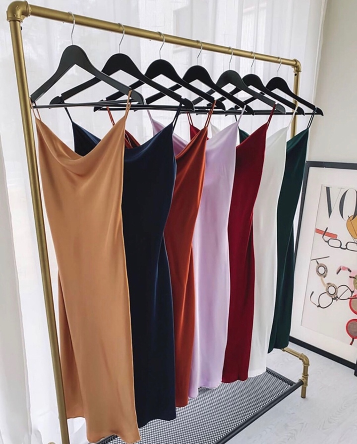 Meet Your Dream Satin Slip Dress – And It's Under $80