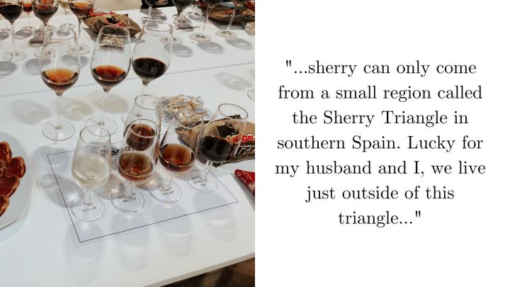 Sherry Tasting at BodegaOsborne