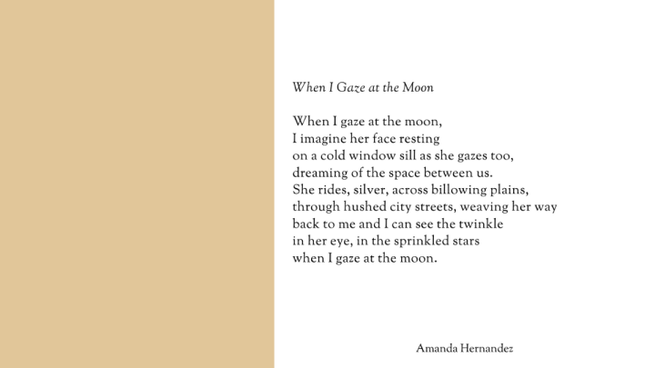 When I Gaze At TheMoon